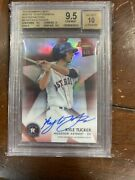 Kyle Tucker 2015 Bowman's Best Red Refractor Auto 5/5 Bgs 9.5 10 Mint Astros