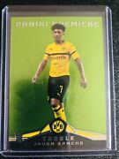 2018 Panini Treble Jadon Sancho Rookie Card Rc 10/10 Dortmund England