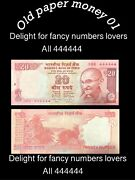 Old World Paper Money India Asia 100 Rupees All 4 Very Rear To Find Year2015