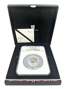 2012 Silver Proof 5oz £10 Coin London Olympics Pegasus Case G Britain Ngc Pf70