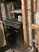 Cast Iron Stove Southbend 10 Burner Vintage Commercial With Hood