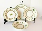 Mikasa Blossom Song F9019 French Countryside 25 Pc Set Plates And Bowls Cottage