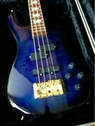 Spector Euro4lx Blue Burst Bass Electric Guitar With Hard Case Japan Shipped