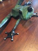 Tim Cotterill Bronze Frog Large Stretch Bf5 Frogman