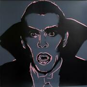 Holidy Special Andy Warhol Dracula 1981 Silkscreen Proof