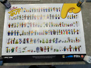 The Simpsons Tapped Out Poster 2016 Sdcc Comic Con Exclusive Limited Read