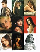 2007 James Bond Complete Gallery Trading Cards Set 47 B-1