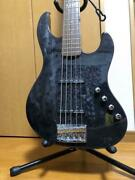E-ii By Esp J-5 Series 5 String Limited Color Bass Guitar Shipped From Japan