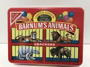 Vintage Nabisco Animal Crackers Sealed Tin 1989 Limited Edition