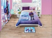 Frozen Comforter With Sherpa Bedding Decoration Licensed Teens Pillow Full 2pcs
