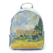 Louis Vuitton Masters Collection Van Gogh Palm Springs Backpack M43374 Authbm454