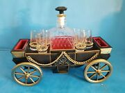Great Vintage 12 Coach/drink Server/music Box.one Of The Kind.