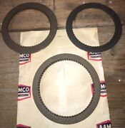 Fits 1966-1967 Ford C6 Cruise O Matic Transmission Clutch Friction Plate Set Nos