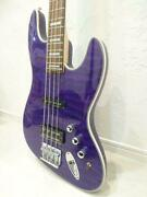 Tribe Wizard 4 String Electric Bass Guitar With Gig Case Shipped From Japan