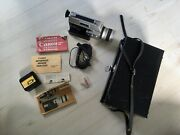 Super 8 Auto Zoom 814 Canon Film Movie Camera Made In Japan 7.5-60mm Lens F-1.4