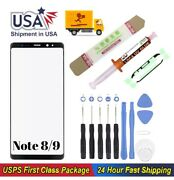 Samsung Galaxy Note 8 Note 9 Front Glass Replacement Screen Lens Repair Tool Kit
