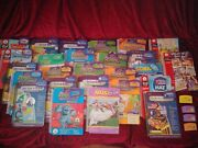 Huge Lot Of Leap Frog Leapster Learning Games Math Science And Reading Home School
