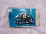Nos Compass Visor Clip - Vintage Praying Hands Sun Shield Accessory Chevy Ford