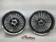 Indian Scout 16 Inch Wheels Rims Front Rear 16x3.5 Oem