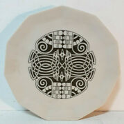 Celtic Dish Boxed Made In Scotland By Horizon Porcelain Super Condition
