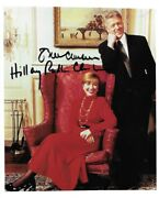 Bill And Hillary Clinton Signed Autographed 8x10 Jsa Certified