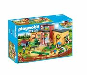 Tiny Paws Pet Hotel With Flexible Outdoor Fence Playmobil 9275