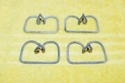 1964 1965 1966 Mustang Gt Shelby Orig Grille Surround Trim Molding Lower Clips