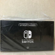 Nintendo Switch Thunderbolt Project By Fragment And Pokemon Pop By Jun Limited
