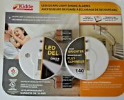 Kidde Led Escape Light Smoke Alarms New 2 In A Pack