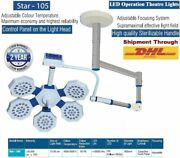 Operation Theater Led Ot Light Uv Ir Rays Protects Single Dome Surgical Lights@