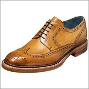 Barker // Bailey Cedar Hand Painted // Mens Brogues Shoes // Reduced Was Andpound300.00