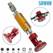 Bicycle Invisible Repair Tool Chain Cutter Chain Tool Set Multi Portable Kit