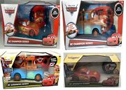 Disney Cars Lightning Mcqueen Tow Mater Rc Advanced Remote Control Car Ages 3+