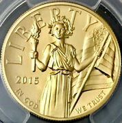 2015-w Gold Ms70 100 First Strike American Liberty High Relief Ms 70 1 Ounce
