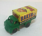 Vintage Tinplate/plastic Wells Brimtoy Baker, Friction Drive, Almost Perfect