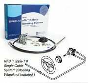 Nfb Safe-t Rotary Steering System Ss13216 Helm Bezel Cable Hardware Marine