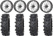 System 3 St-3 Machined 20 Wheels 36 Outback Maxand039d Tires Rzr Xp 1000 / Pro Xp