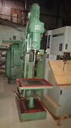 1andfrac12 In. Alzmetal Abomat Ab40 Drill Press 24 X 18 Table Germany Super Deal