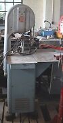 12 Biro Meat-cutting Bandsaw. No. 22. All Stainless + Alloy. Meets Standards