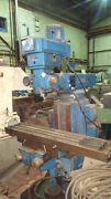 Vertical Ram-type Turret Milling [bridgeport] And039beaverand039 10x 48 Table Uk