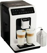Krups Evidence Ea893d40 Automatic Espresso Bean To Cup Coffee Machine Metal