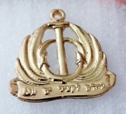 Acre Naval Officers Command And Leadership School Hat Badge Lapel Pin