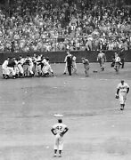 Bobby Thomson Shot Heard Around The World Giants Win The Pennent Photo 8x10
