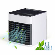 Desk Portable Air Conditioner Cooler Mini 3 Modes And 7 Colors Light Air Purifier