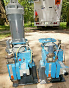 Lot Of 2 Wallace And Tiernan Chemtube 200 Hydraulic Diaphragm Metering Pumps