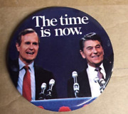 500 Count Reagan Bush The Time Is Now And Assorted Reagan Ethnic Pin Massive Lot