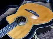 Rare Takamine Dmp670nc Vn Electric Acoustic Guitar W/ Hard Case Japan Shipped