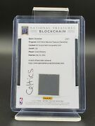 Grant Williams 2019/20 National Treasures Gold Rpa Rookie Patch Auto Blockchain