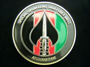 Special Operations Task Force West Sotf-w Marsoc Command Team Challenge Coin