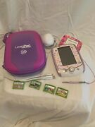 Leapfrog Leappad 2 Explorer Kids Learning Tablet With Four Games And Case
